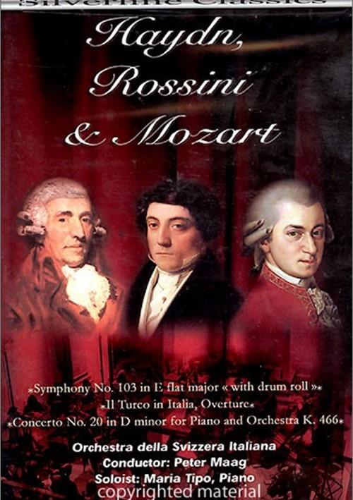 Haydn, Rossini & Mozart Orchestra Della Svizzera Italiana Movie