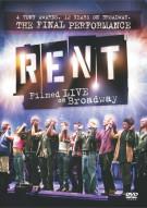 Rent: Filmed Live On Broadway Movie
