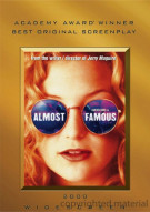 Almost Famous (Academy Awards O-Sleeve) Movie