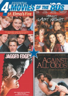 Essential Movies Of The 80s (St. Elmos Fire / About Last Night / Jagged Edge / Against All Odds) Movie
