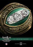 NFL Americas Game: 1967 Green Bay Packers Super Bowl II Movie