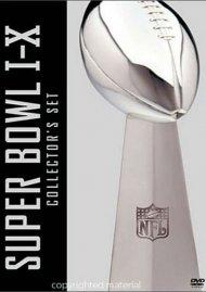 NFL Super Bowl Collection: Super Bowl I - X Movie