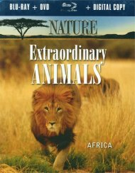 Nature: Extraordinary Animals - Africa (Blu-ray + DVD + Digital Combo) Blu-ray