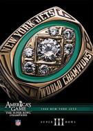 NFL Americas Game: 1968 New York Jets Super Bowl III Movie