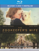 Zookeepers Wife, The (Blu-ray + DVD + UltraViolet) Blu-ray