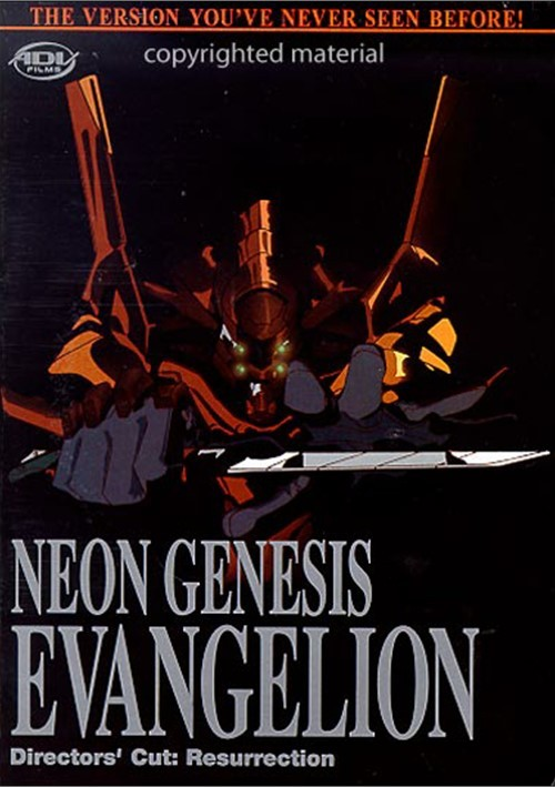 Neon Genesis Evangelion: Resurrection - Directors Cut Movie