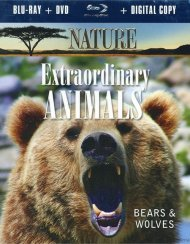 Nature: Extraordinary Animals - Bears And Wolves (Blu-ray + DVD + Digital Copy) Blu-ray