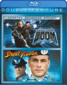 Doom / Street Fighter (Double Feature) Blu-ray