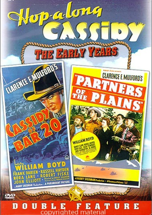 Hopalong Cassidy: Cassidy Of The Bar 20/ Partners Of The Plains Movie