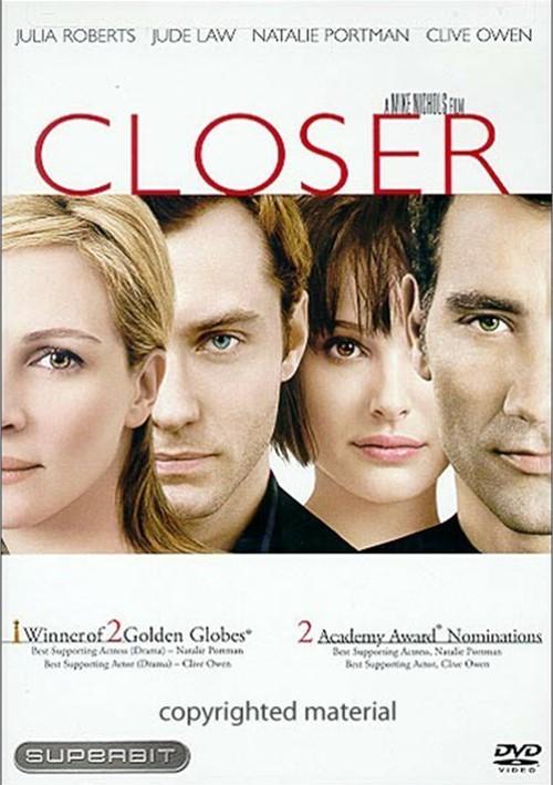 Closer (Superbit) Movie
