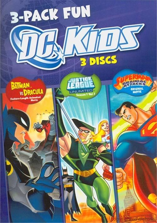 DC Kids (3 Pack) Movie