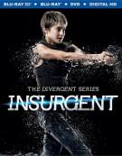 Divergent Series, The: Insurgent (Blu-ray 3D + Blu-ray + DVD + UltraViolet) Blu-ray