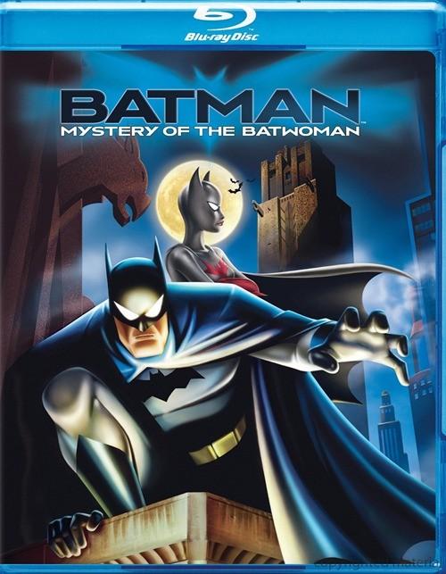 Batman: Mystery Of The Batwoman Blu-ray