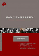 Early Fassbinder: Eclipse From The Criterion Collection Movie