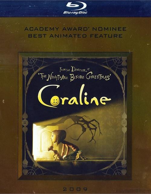 Coraline Blu-ray