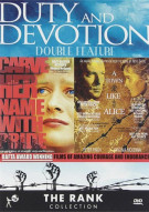 Duty And Devotion Double Feature: Carve Her Name With Pride / A Town LIke Alice Movie