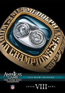 NFL Americas Game: 1973 Miami Dolphins Super Bowl VIII Movie