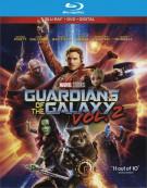 Guardians of the Galaxy Vol. 2 (Blu-ray + DVD + Digital HD Combo) Blu-ray