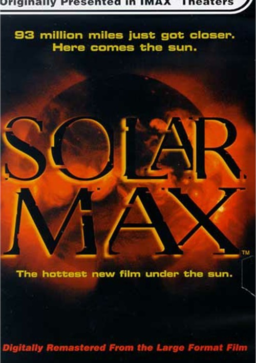 IMAX: Solar Max - Collectors Edition Movie
