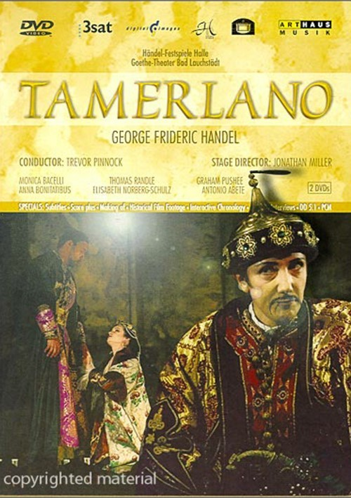 Tamerlano: G.F. Handel Movie