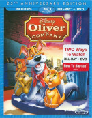 Oliver & Company: 25th Anniversary Edition (Blu-ray + DVD Combo) Blu-ray