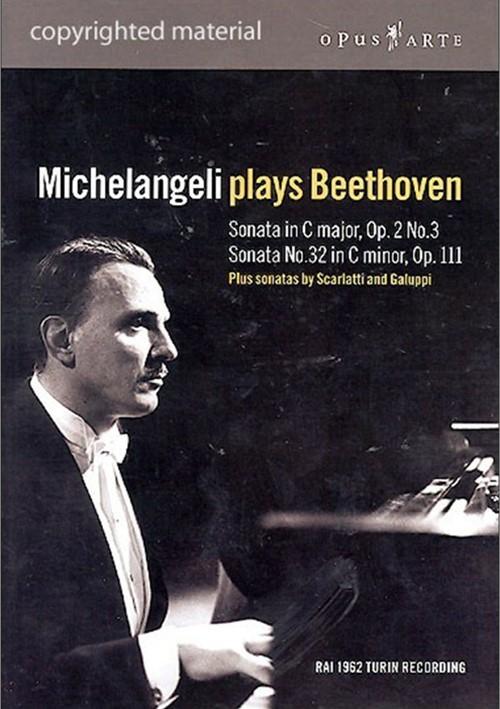 Michelangeli Plays Beethoven Movie