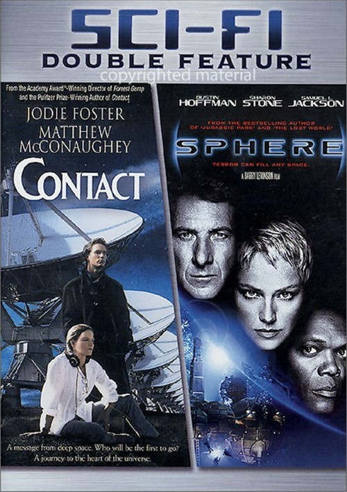 Contact / Sphere (Double Feature) Movie