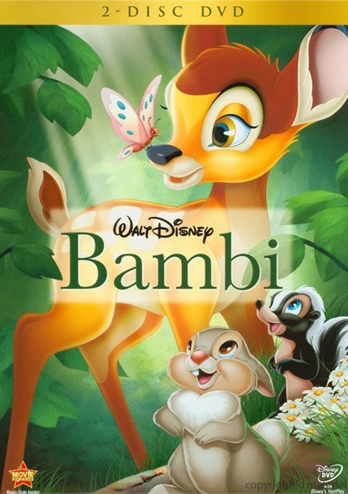 Bambi: 2 Disc DVD Movie