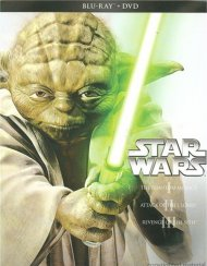 Star Wars Trilogy: Episodes I - III (Blu-ray + DVD Combo) Blu-ray