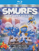 Smurfs: The Lost Village (4K Ultra HD + Blu-ray + UltraViolet)  Blu-ray