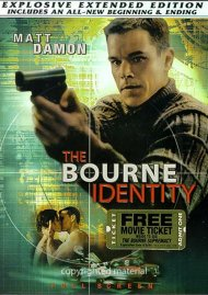 Bourne Identity, The: Explosive Extended Edition (Fullscreen) Movie