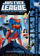 Justice League Unlimited: The Complete Second Season Movie