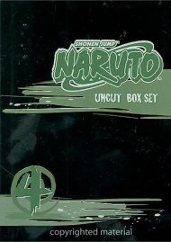 Naruto: Volume 4 - Box Set Movie