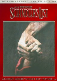Schindlers List: 20th Anniversary Edition (DVD + Digital Copy + UltraViolet) Movie