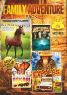 8 Movie Family Adventure Pack: Volume Five Movie