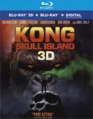 Kong: Skull Island (Blu-ray 3D + Blu-ray + UltraViolet)  Blu-ray