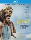 Gifted (Blu-ray + DVD + Digital HD Combo) Blu-ray