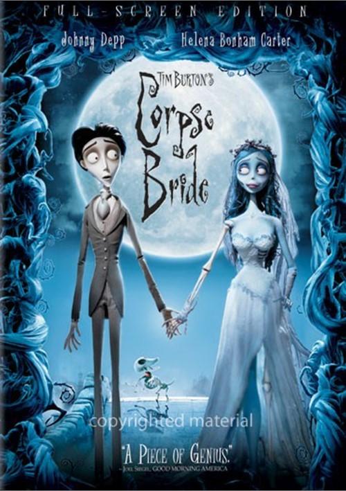Tim Burtons Corpse Bride (Fullscreen) Movie
