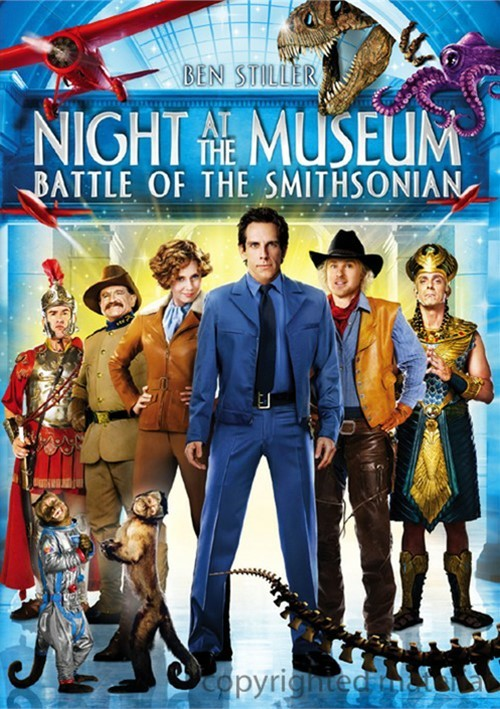 Night At The Museum: Battle Of The Smithsonian (DVD 2009 ...