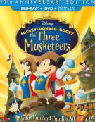 Three Musketeers, The (Blu-ray + DVD + Digital HD) Blu-ray