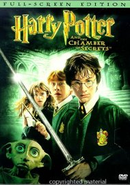 Harry Potter And The Chamber Of Secrets (Fullscreen) Movie