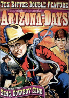 Tex Ritter Double Feature: Arizona Days / Sing, Cowboy, Sing (Alpha) Movie