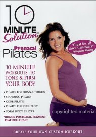 10 Minute Solution: Prenatal Pilates Movie