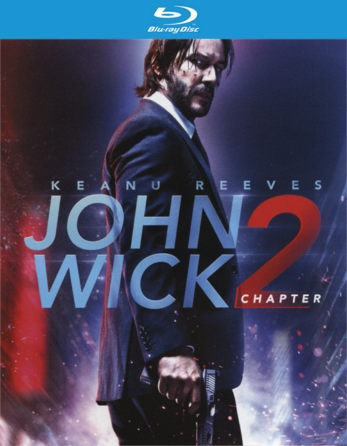John Wick: Chapter 2 (Blu-ray + DVD + UltraViolet) Blu-ray