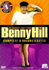 Benny Hill, Complete And Unadulterated: The Naughty Early Years - Set One Movie