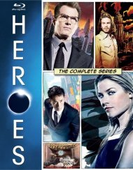 Heroes: The Complete Series Blu-ray