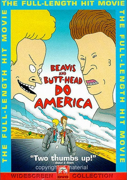 Beavis & Butt-Head Do America Movie