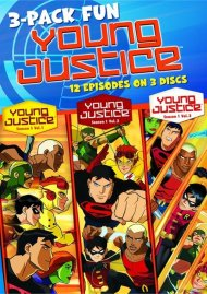 Young Justice (3 Pack) Movie