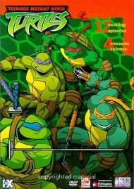 Teenage Mutant Ninja Turtles: 4-Volume Set Movie