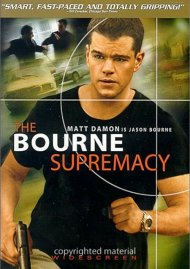 Bourne Supremacy, The (Widescreen) Movie
